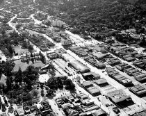 Image of Aerial of Downtown San Mateo Looking Southwest, 1962