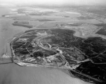 Image of Aerial of Brewer Island (Foster City), 1962