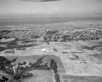 Image of Aerial of the College of San Mateo under Construction, 1962