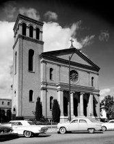 Image of St. Matthew Catholic Church in Downtown San Mateo, 1962