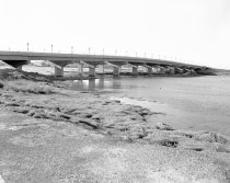 Image of Hillsdale Boulevard Bridge in Foster City, 1962