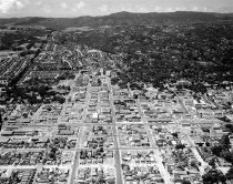 Image of Downtown San Mateo Looking West, 1963