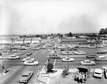 Image of Hillsdale Boulevard and El Camino Real in San Mateo, 1963