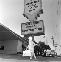Image of Nudist Convention at Sheraton Villa Motor Inn, San Mateo, 1963
