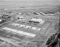 Image of Aerial of United Airlines Maintenance Facility at San Francisco Internation