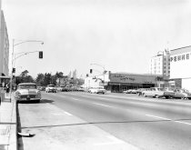 Image of El Camino at 4th Avenue, San Mateo, 1964