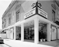 Image of Peninsula National Bank Exterior, Burlingame, 1964