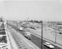 Image of 2015.001.05495.1 - Underpass Construction at Hillsdale and El Camino in San Mateo Looking North, 1964