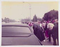 Image of Untitled (Robert Halperin in Superbowl XIX Crowd), 1985