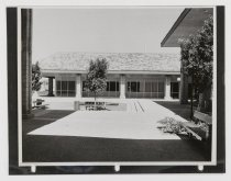 Image of 2016.015.001.25 - Untitled (Courtyard at Raychem Headquarters), c. 1966-1975
