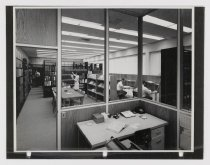 Image of Untitled (Library at Raychem Corporation Facilities), c. 1966-1975