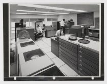 Image of Untitled (Computer Room at Raychem Corporation Facilities), c. 1966-1975