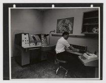 Image of 2016.015.001.37 - Untitled (Office Interior at Raychem Corporation Facilities), c. 1966-1975