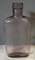 Image of William Hunt Whiskey Bottle, c. 1890-1902