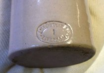 Image of Ceramic Beer Bottle, c. 1880-1899