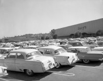Image of 2015.001.03558A.7 - Hillsdale Shopping Center Parking Lot, 1962