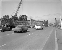 Image of 2015.001.03711.6 - Construction of Highway 92 Overpass in San Mateo, October 1962