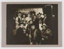 Image of 2016.015.001.117 - Untitled (Raychemers Dressed as Western Cowboys), c. 1957-1999