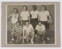 Image of 2016.015.001.151 - Untitled (Basketball Group Portrait), c. 1960s-1970s