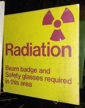 Image of Radiation Safety Sign, c. 1957-1999