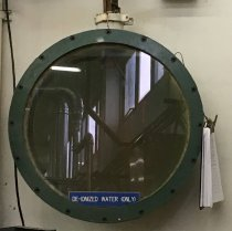 Image of Radiation Observation Window, c. 1957-1999 (at Tyco facility)