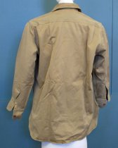 Image of WWII Army Uniform Long-sleeved Shirt of Joseph Dutilh, c. 1941-1945