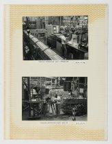 """Image of Raychem Operations Photograph, Tubular Extrusion (3/12"""") Set Up, c. 1960s-1"""