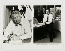 Image of 2015.029.003 - Portrait of Paul M. Cook and Robert M. Halperin, c. 1971-1982