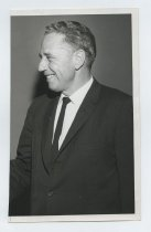 Image of 2017.054.001.1 - Untitled [Head and Shoulder Portrait Photograph of Roy Archibald], October 19, 1964
