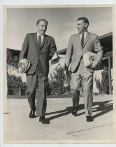 Image of 2017.054.001.8 - Untitled [Door to Door campaigning with Roy Archibald and Assemblymen Leo J. Ryan], December 12, 1967