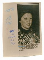 Image of 2017.054.002.29 - Untitled [Portrait Photograph of Shirley Temple Black], September 12, 1974