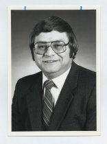 Image of 2017.054.003.10 - Untitled [Portrait photograph of Joesph Bill Bono], July 29, 1983