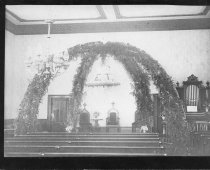 Image of 0000.217.003.6 - Old Congregation Church Interior c. 1887
