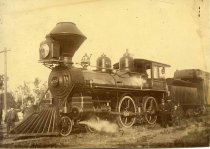 Image of 0000.217.004.3 - Redwood City Railroad Station, c. 1880