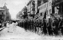 Image of 1983.083.004 - American Soldiers Arrive at Vladivostock, 1918