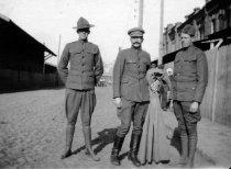 Image of 1983.083.008 - Corporal Iler Watson (left) in Vladivostock, c. 1918-1919