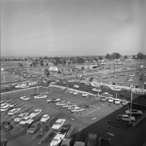 Image of 2015.001.05536.1 - Traffic Conditions near Hillsdale Shopping Center, May 7, 1964