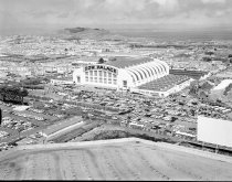 Image of 2015.001.05804.1 - Aerial View of National Republican Convention at Cow Palace Daly City, 1964