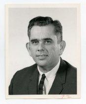 Image of 2017.054.004.11 - Untitled [Portrait photograph of William O. Borden], June 19, 1969