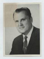 Image of 2017.054.004.15 - Untitled [Portrait photograph of Edmund R. Borgan], November 5, 1964