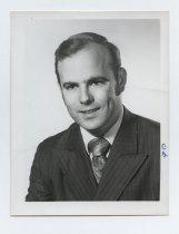 Image of 2017.054.004.19 - Untitled [Portrait photograph of Arthur L. Borland], June 14, 1972