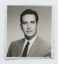 Image of 2017.054.004.32 - Untitled [Portrait photograph of Pedro Borroto], c. 1960s