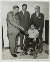 Image of 2017.054.004.35 - Untitled [Photograph of Bobby Bortolin], October 5, 1964