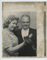 Image of 2017.054.004.5 - Untitled [Photograph of Detective John Borcherding with his wife], May 9, 1973