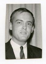 Image of 2017.054.004.9 - Untitled [Portrait photograph of John F. Borchers], August 28, 1968