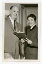 "Image of 2017.054.005.21 - Untitled [Photograph of Henry ""Bud"" Bostwick, Jr., and Ms. Jan Dodd], c. 1960s"