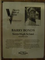 Image of Barry Bonds 2009.030.020