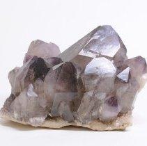 Image of Quartz, var. Amethyst from Diamond Hill Quartz Mine in Antreville, SC.