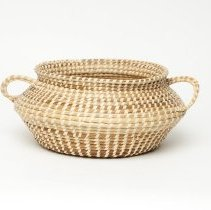 "Image of ""Spittoon"" basket, sweetgrass by Elizabeth Foreman"