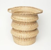 Image of Sweetgrass basket by Beartrice Coakley